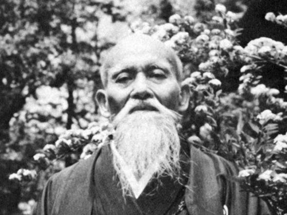 Aikido Founder Morihei Ueshiba Osensei 合気道開祖植芝盛平